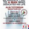 Concert caritabil pentru sustinerea exploratorului Alin Totorean, 6 martie