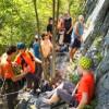 Raport: Tabara de escalada CAR Univ. Cluj, Cheile Aiudului