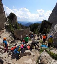 Tabara Clubului Alpin Român din Rarău 2020