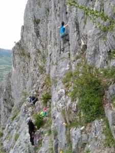 Curs escalada sportiva @ Camin Alpin Busteni