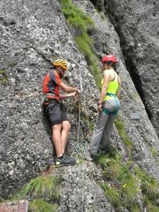 "Curs alpinism ""multipitch"" @ Camin Alpin Busteni"
